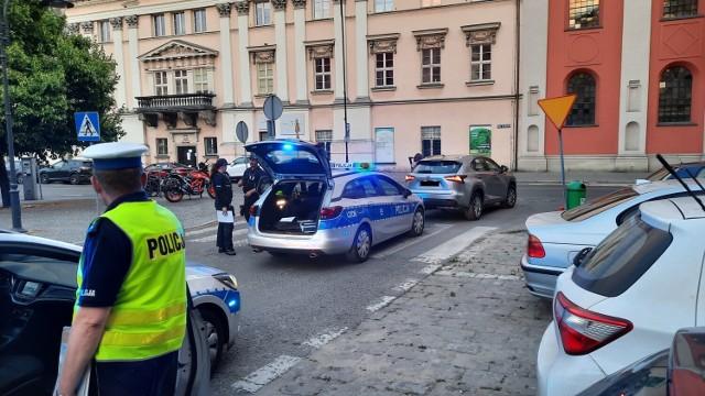 Pijany kierowca zatrzymany w centrum Kalisza