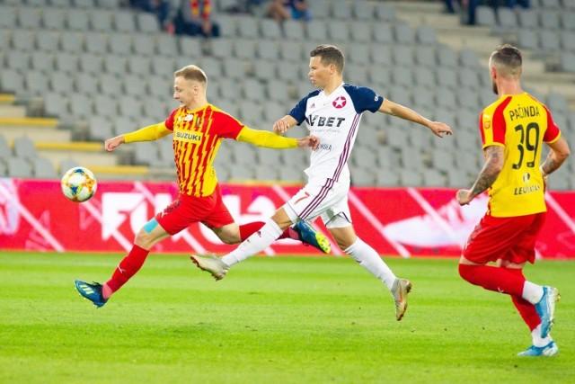 Jesienią w Kielcach w meczu Korony z Wisłą Kraków padł remis 1:1