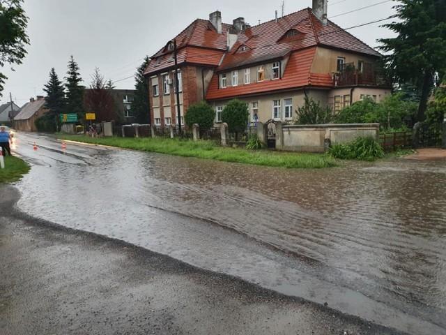 Ul. Poznańska w Margoninie