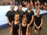 Młode akrobatki MDK w Jaśle zadebiutowały na mistrzostwach Polski [ZDJĘCIA, WIDEO]