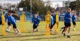 Błękitni Stargard solidnie trenują, bo chcą się utrzymać w II lidze