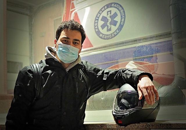Tomasz Karauda miał być pastorem, został lekarzem w łódzkim szpitalu