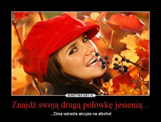 Jesień na Demotywatorach