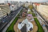 Zobacz Poznań z 33-metrowej karuzeli na placu Wolności [ZDJĘCIA]