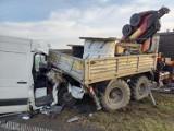 Wypadek na autostradzie A1. Pomiędzy Lisewem a Turznem zderzyły się dwa pojazdy [zdjęcia]