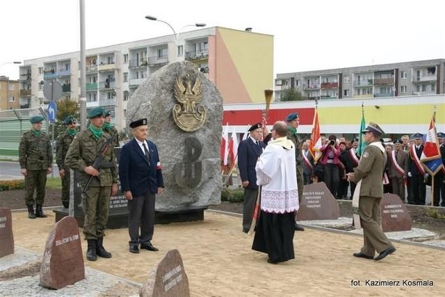 Poświęcenie pomnika
