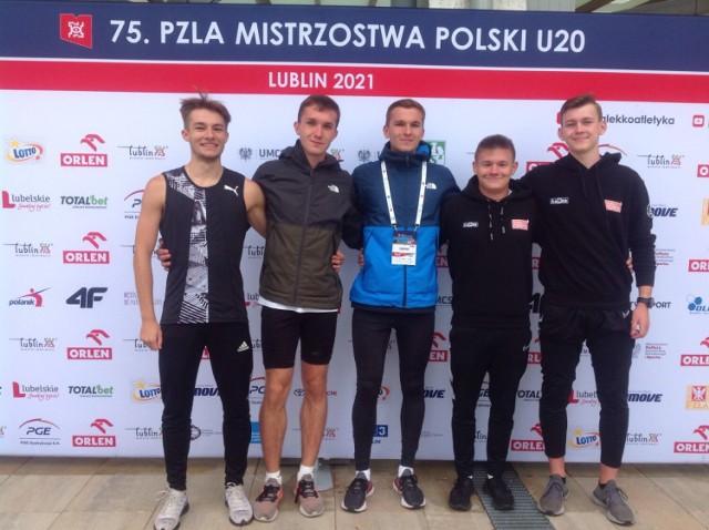 Kolejne wspaniałe sukcesy łęczyckich lekkoatletów