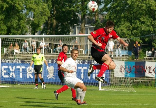 17.06.2009, Kraków: pierwszy mecz barażowy Hutnik - Jeziorak Iława