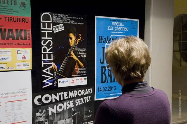Watershed to projekt amerykańsko-francuski, któremu przewodzi Denis Fournier grający na perkusji. Koncert odbył się 13 lutego 2013 r. Fot. Andrzej Hajdasz