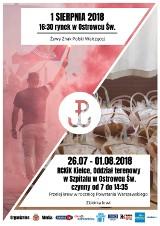 Żywy znak Polski Walczącej powstanie w Ostrowcu Świętokrzyskim