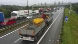 Seria wypadków na drogach w Małopolsce. Spore utrudnienia na zakopiance i autostradzie A4
