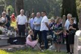 Święto kapliczki prawosławnej w Siderce. Była procesja, czytanie Ewangelii i życzenia