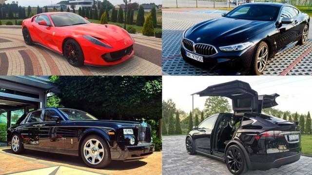 TOP 10 najdroższych samochodów wystawionych na sprzedaż w okolicach Tarnowa, 31.07.2021