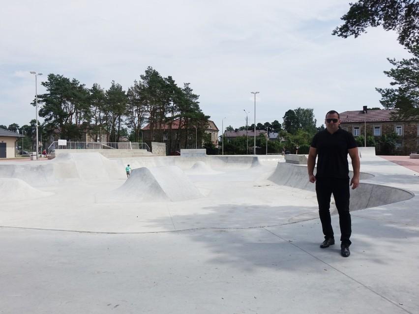 Skarżyski skatepark nie został jeszcze otwarty ale można już...