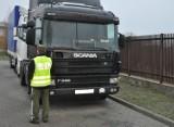 Dorohusk. Ukrainiec próbował przekroczyć granicę kradzionym tirem