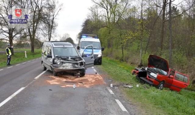 Wypadki w powiecie biłgorajskim: dwóch 19-latków trafiło do szpitala
