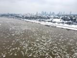 Czy Warszawie grozi alarm powodziowy? Jest szansa, że Wisła zamarznie. Po raz pierwszy od lat