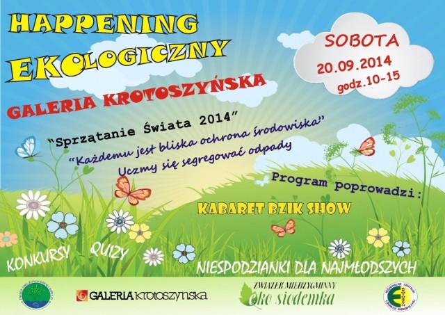Galeria Krotoszyńska - Happening ekologiczny