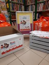 Miejska Biblioteka Publiczna w Kraśniku. Przekaż książki i pomóż małym bibliotekom. Trwa akcja Kinder Mleczna Kanapka