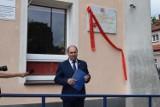 Uroczystość odsłonięcia tablicy upamiętniającej 100 - lecie PCK w Wągrowcu