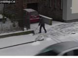 Strażnicy z Wejherowa ostrzegają przed mandatami za nieodśnieżone chodniki