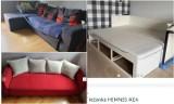 Łożka, szafy, komody i inne meble ze sklepu IKEA - za darmo we Wrocławiu