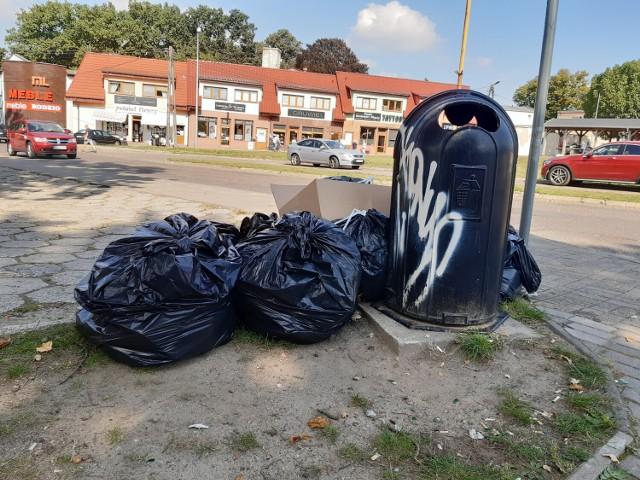 Goleniowskie PGK 8 września wstrzymało odbiór śmieci