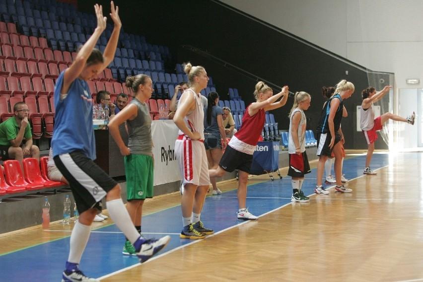 Basket ROW Rybnik, zdjęcia z treningu nowego klubu,...