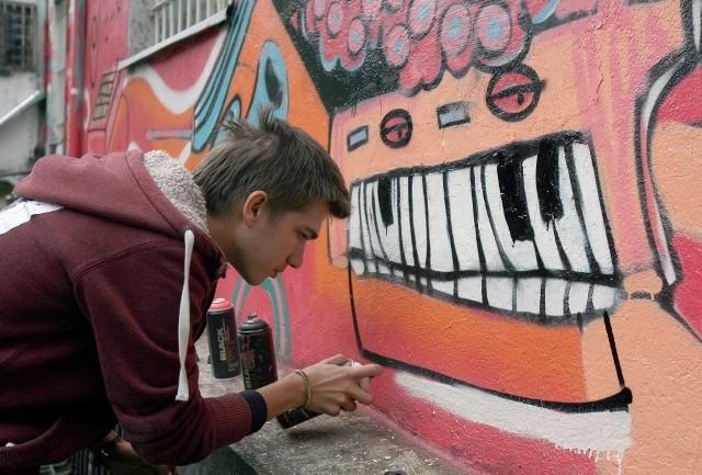 Graffiti - sztuka miasta