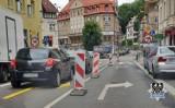 Wałbrzych: Uważajmy na znaki drogowe. Tymczasowa organizacja ruchu może zaskoczyć!