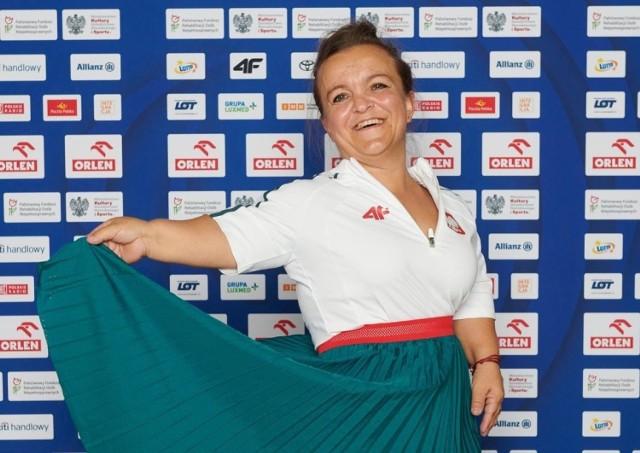 Justyna Kozdryk jest bardzo utytułowaną zawodniczką, w igrzyskach paraolimpijskich uczestniczyła już trzy razy.