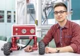Student Politechniki Rzeszowskiej w telewizji. Pokazał swojego robota dla straży pożarnej w Pytanie na Śniadanie