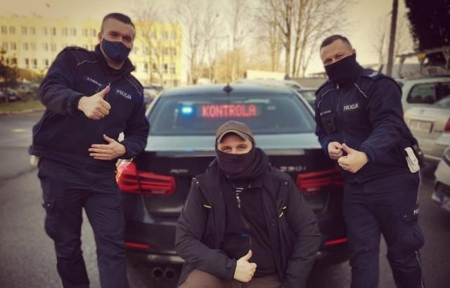 Policjanci z Konina wystąpili w programie telewizyjnym.