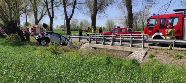 Do wypadku w Kokocku doszło dziś tuż po południu