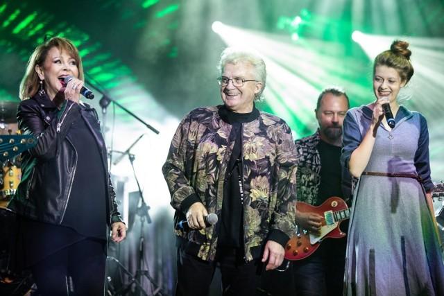 Irena Michalska podczas koncertu towarzyszącemu otwarciu muszli koncertowej im.Romualda Lipko w Lublinie