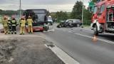 W Mszanie samochód osobowy zderzył się z autobusem. Siedem osób zostało rannych!