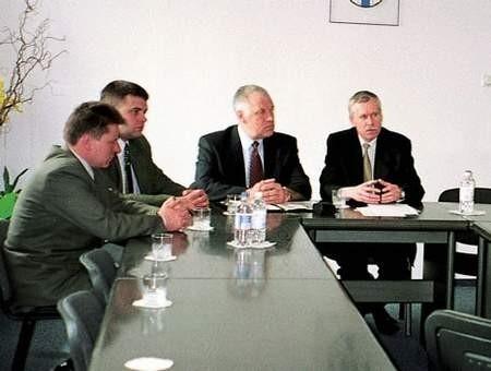 Mer Vaclovas Volkovas Częstochowę odwiedził po raz pierwszy. fot. GRAŻYNA FOLARON