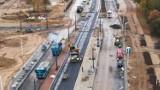 Tramwaj na Winnicę. Ułożono już trzy kilometry torów. Kiedy otwarcie nowej trasy?