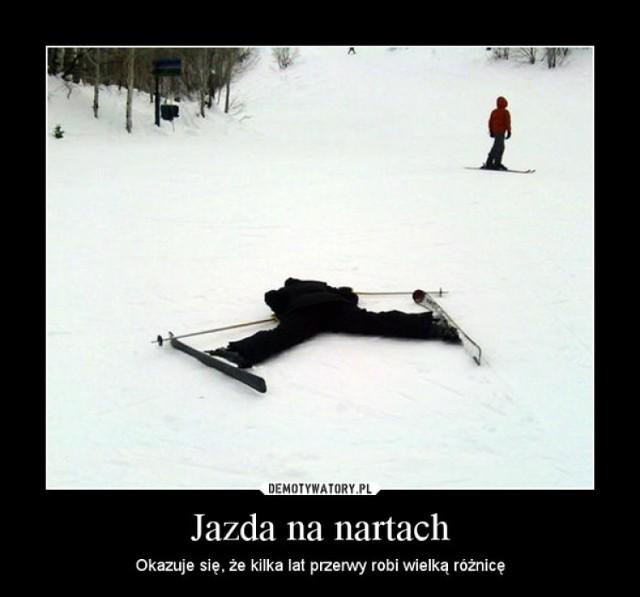 Jest zima - jedź na narty