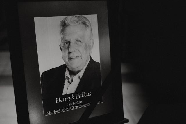Ostatnie pożegnanie Henryka Falkusa, wieloletniego skarbnika miasta w Siemianowicach Śląskich