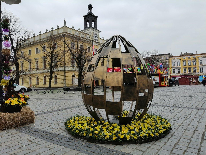 Wielkanocne dekoracje w mieście - Ostrów Wielkopolski