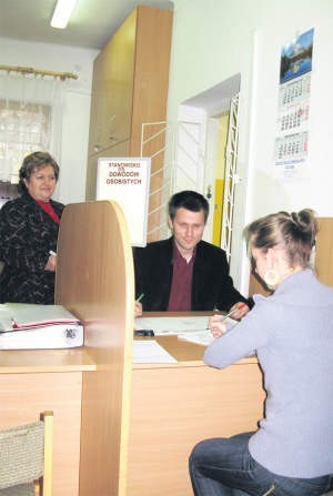 Danuta Skrzypińska, kierownik wydziału spraw obywatelskich w pułtuskim, foto: Marcin Sobocki