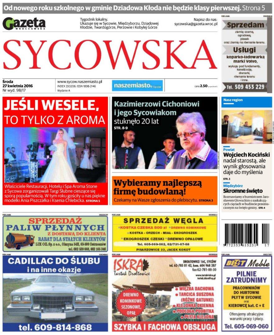 Gazeta sycowska ogłoszenia