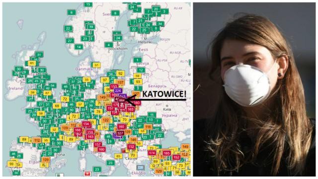 W poniedziałek najgorsza sytuacja w Europie była w Rybniku, dziś w tym niechlubnym rankingu wygrywają Katowice! Centrum zarządzania Kryzysowego wystosowało ostrzeżenie o smogu: We wtorek 10.01.2017 r. jakość powietrza na większości obszaru województwa śląskiego ze względu na poziom pyłu zawieszonego będzie bardzo zła; w aglomeracji górnośląskiej i rybnicko-jastrzębskiej, w środkowej części województwa, Kotlinie Żywieckiej oraz w Częstochowie i Bielsku-Białej mogą wystąpić przekroczenia poziomu alarmowego stężenia pyłu zawieszonego PM10 (300 µg/m3); w północnej części województwa jakość powietrza będzie zła.