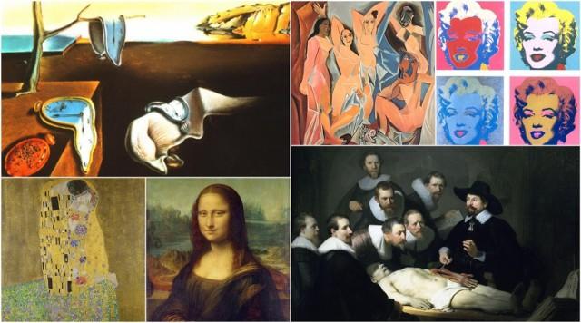 Impresjonizm, surrealizm, romantyzm, abstrakcjonizm… Każdy styl malarski rządzi się innymi prawami. Czy potrafisz rozpoznać obrazy największych wirtuozów pędzla?   Przejdź do galerii i dowiedz się, jak się tego nauczyć --->