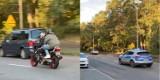 Policyjny pościg w Wągrowcu! Motocyklistę zatrzymano po kilku kilometrach