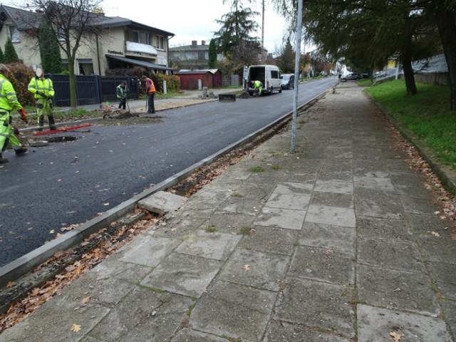 W Częstochowie trwają remonty dróg w kilku dzielnicach