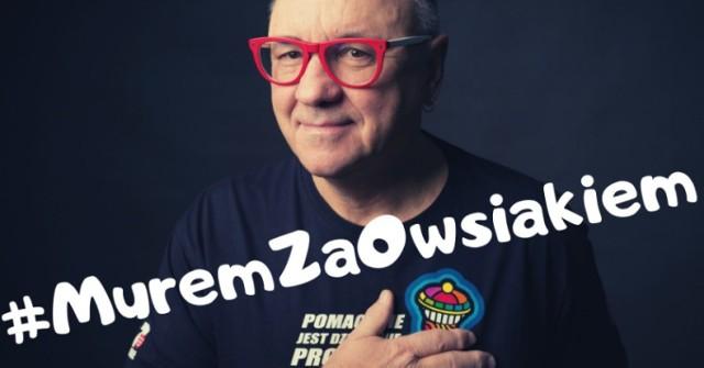 """Akcja """"Murem za Owsiakiem"""" w Opolu rozpocznie się o godz. 20."""