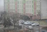 W Wieluniu wietrznie, spadł też śnieg. Jaka pogoda czeka nas w najbliższe dni