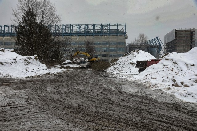 Plan jest taki, by w sąsiedztwie stadionu Wisły powstała nowa droga dojazdowa do tego obiektu.